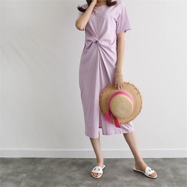 エンジェルねじりワンピース4 colornew ロング/マキシワンピース/ワンピース/韓国ファッション