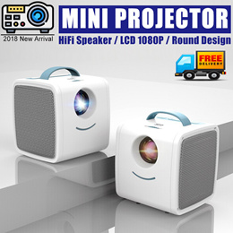 2018 MINI Portable Projector 700 Lumens Child Christmas Gift Mini TV Home Beamer HDMI USB AV SD