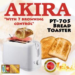 AKIRA PT-705 Bread Toaster / 750W / 7 Varible Browning Control