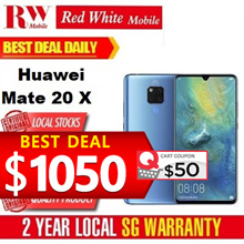 Huawei Mate 20 X / Huawei Singapore 2 Years Warranty