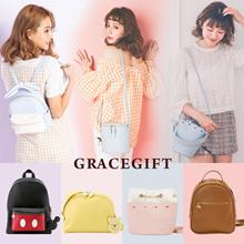 Disney Alice Mickey Minnie ChipDale Handbags/Shoulder Bags/Backpacks/Canvas/Women/Bags
