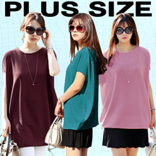 [PLUS SIZE] KOREA STYLE ★ BOXY FIT TOP COLLECTION / SUPER SOFT SPANDEX