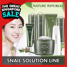 [NATURE REPUBLIC] Snail Solution Line / Cleanser / Booster / Emersion / Essence / Cream / BB Cream