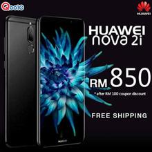 (Applied Coupon Discount) HUAWEI NOVA 2i 4GB/64GB ROM - Huawei Malaysia Warranty