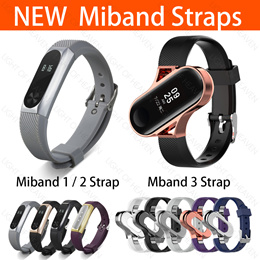 XIAOMI Miband strap case band watch straps for miband 3 2 1 accessories strap + bumper case