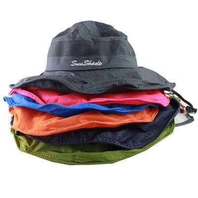 1ef2e5f6f38 wholesale Lightweight UPF50+ Summer Sun Hat for Mens Womens Bucket Hat  Breathable Mesh Boonie Cap Ou