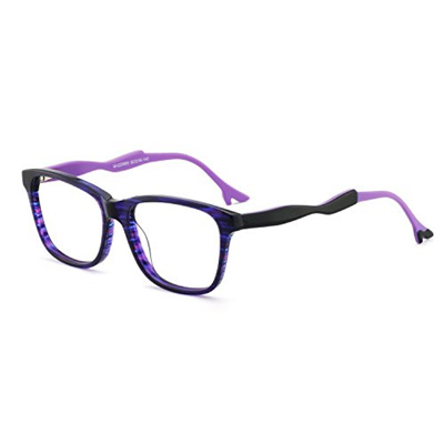02aa080ff OCCI CHIARI Womens Rectangle Stylish Eyewear Frame Non-Prescription  Eyeglasses with Clear Lenses