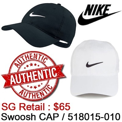 46089d30730f3  NIKE  SWOOSH CAP  100% genuine Nike   BASIC DESIGN BALL CAP