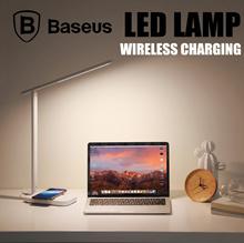 Baseus Lett LED Lamp Wireless Charging Foldable Desk LED Table Lamp 3 Light Mode 5 Brightness Level