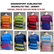 GRANDSPORT FOOTBALL SOCCER TEAM JERSEY TOP T SHIRT SPORTS TEAM ORDER MENS GRAND SPORT