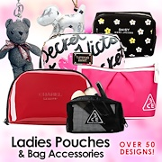 Super Sale★Luxury Pouch★Cosmetics Toiletries Bag★Handbags★Bag Charm★Exprs Dely
