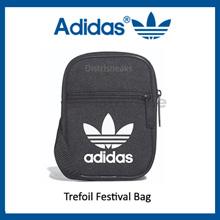 Adidas Trefoil Festival Bag Black (Code: BK6730)