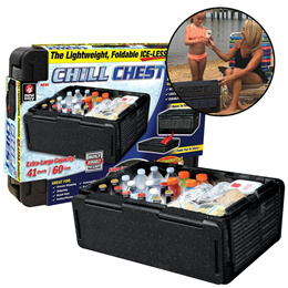 Chill Chest Cooler Car Insulated Box As Seen On TV