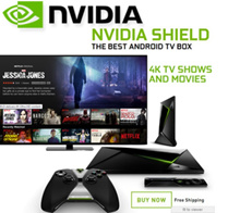 LOWEST $250 2017 Nvidia Shield TV Streaming Media Player | Nvidia Shield K-1 Tablet