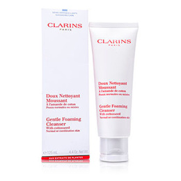 Clarins Gentle Foaming Cleanser With Cottonseed (Normal / Combination Skin 125ml/4.4oz