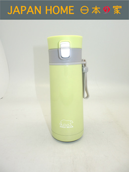 【Japan Home】POLEBEAR STAINLESS STEEL VACUUM BOTTLE GREEN 350ml