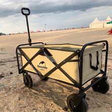 Naturehike Portable Welding Transplant Camping Car Wagon Picnic Carrying Shopping Cart NH19PJ001