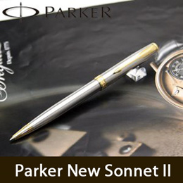 ★Super Sale★ Parker New Sonnet 2 Ball Point Pen Fountain Pen/Engraving Name/100% GENUINE and ORIGINAL/Warranty Included