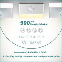 LED 3M Range Human Body LED PIR Motion Sensor Night Lights Sensor Smart Lights for Emergency