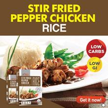 Xndo Stir Fried Pepper Chicken Rice