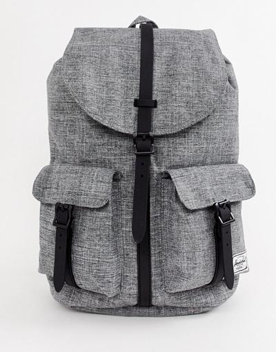 98a7f2cd779 Qoo10 - Herschel Supply Co Dawson 20.5l backpack in raven crosshatch ...