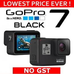 GOPRO HERO BLACK 7 ★NEW!★ 4K resolution | Stabilization | Exclusive Accessories