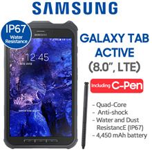 [FREE SHIPPING] [LTE Set] Samsung Tab Active SM-T365 16GB LTE IP67 Water Resistance