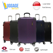 ★Back by Popular Demand!★Hardcase 8 Wheel Spinner ABS Expandable Luggage with TSA lock