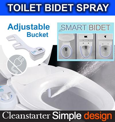 ◆SALE ENDS TODAY ◆ 🚽Luxury Bidet Attachment ✔️Adjustable Buckle ✔️Fit All Toilet Bowl✔️SG Warranty