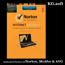 Norton Internet Security 2018 for 3 PCs for 1-Year or 2-Year - product key code license