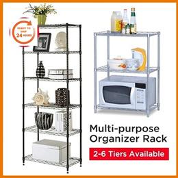2/3/4/5/6 Tier Multi-purpose / Store Room / Kitchen / Bathroom / Dinner Room Organizer Rack