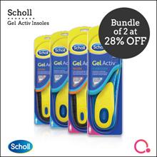 [RB Health]【Bundle of 2】 Scholl GelActiv® INSOLES | Feel comfort in your feet