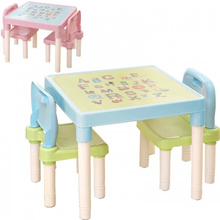 Children s Learning Table And Chairs Set Kindergarten Tables Chairs Plastic Game Table Dinner Drawin