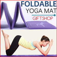 [BEST SELLER]★Foldable Yoga Mat / Light and Easy to Carry / G31