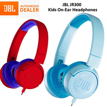 JBL JR300 Kids On-Ear Headphones Headset Earpiece Junior Safe Sound 85dB Music with Local Warranty
