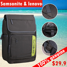 100% genuine samsonite backpack 15.6 inch backpack laptop backpack laptop bag free shipping