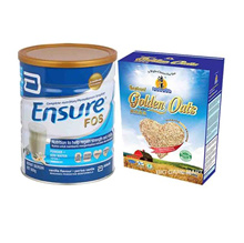 Ensure with FOS Vanilla 850g + Organic Instant Oats 500g