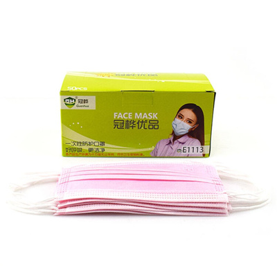 crown disposable face mask