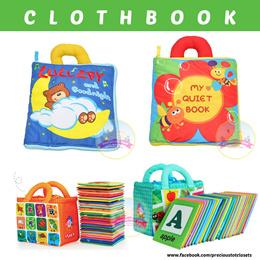 Flash Card * ClothBook * Premium Quality * Interactive Cloth Book * Soft Book * Alphabet * Education
