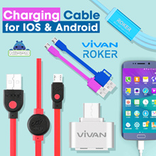 TERMURAH! Kabel Charger For iOS / Android