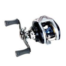 7BB 6.3:1 Bait Casting Fishing Reel 6Ball Bearings + One-way Clutch High Speed Blue