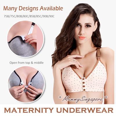 0d7927a7b43 Maternity Nursing Bra top  Pregnant underwear panties panty  confinement  wear  breastfeeding Bra