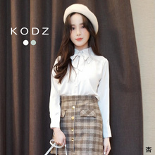 KODZ - Bow-Knot Breasted Top-191247