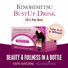 Kinohimitsu ♥SPECIAL♥ BUSTUP 10s ★UPSIZE YOUR CUP★ - 100% Natural No Hormones