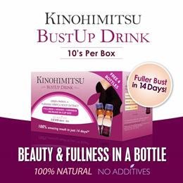 Kinohimitsu ♥SPECIAL♥ BUSTUP 10s ★UPSIZE YOUR CUP★ - 100% Natural No Hormones