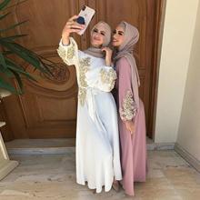 ★  Muslim Ramadan Fashion Baju Kurung Muslimah Dress Luxury Maxi Dress for Hari Raya 2021