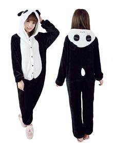 Panda Onesie Cartoon Unisex Costumes cospaly熊猫连体衣