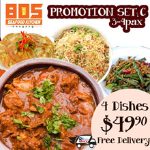 805 Seafood Kitchen. Grand Opening Special. Free Delivery island wide.