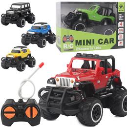 1:43  MINI OFF ROAD RC CAR / 5 colors / AA Battery LR6 1.5V 2EA
