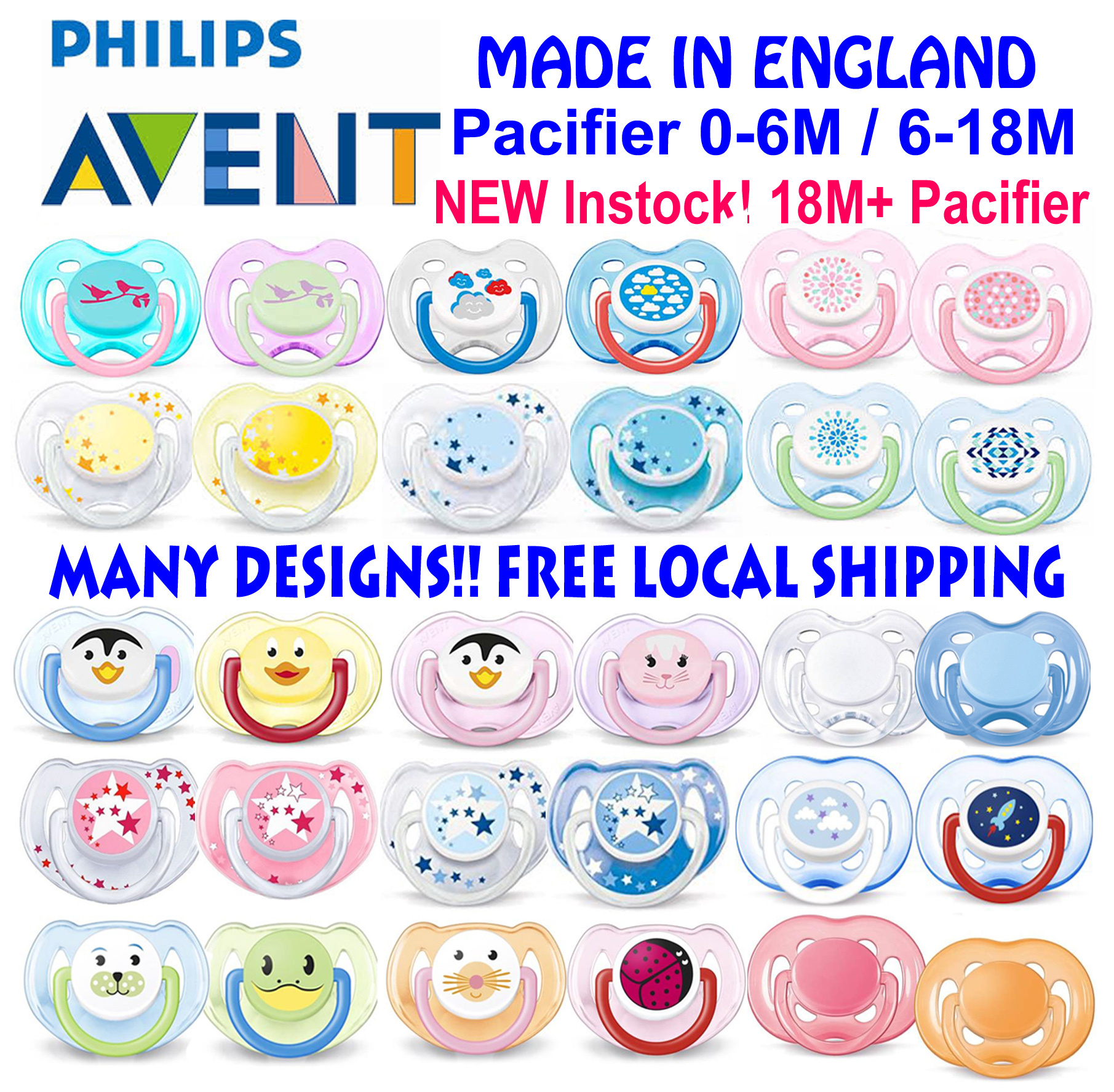 Qoo10 Avent Pacifier Baby Maternity Pigeon Bpa Free Feeding Set Mini 6m Fit To Viewer